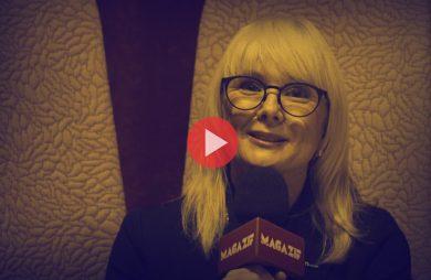 Christina Wulkund - KINNARPS - podczas wywiadu dla MAGAZIF na Warsaw Home 2018