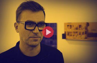 Tomek Rygalik podczas wywiadu dla MAGAZIF na Warsaw Home 2018