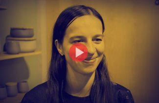 Megi Malinowska - Tabanda - podczas wywiadu dla MAGAZIF na Warsaw Home 2018