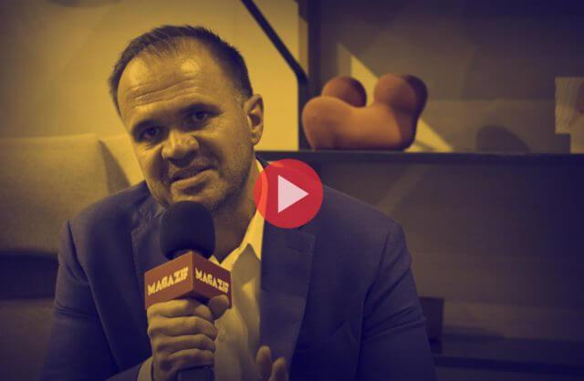 Jiří Zavadil - VITRA - podczas wywiadu dla MAGAZIF na Warsaw Home 2018