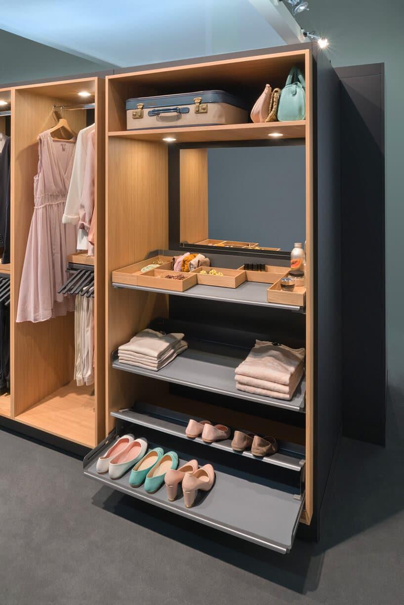 Ile może pomieścić jedna garderoba?