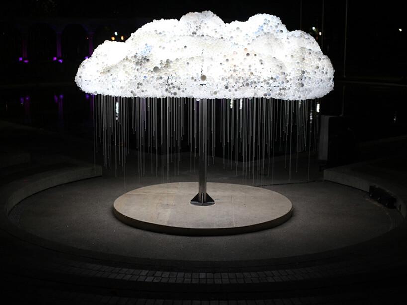 krople zelektrycznej chmury