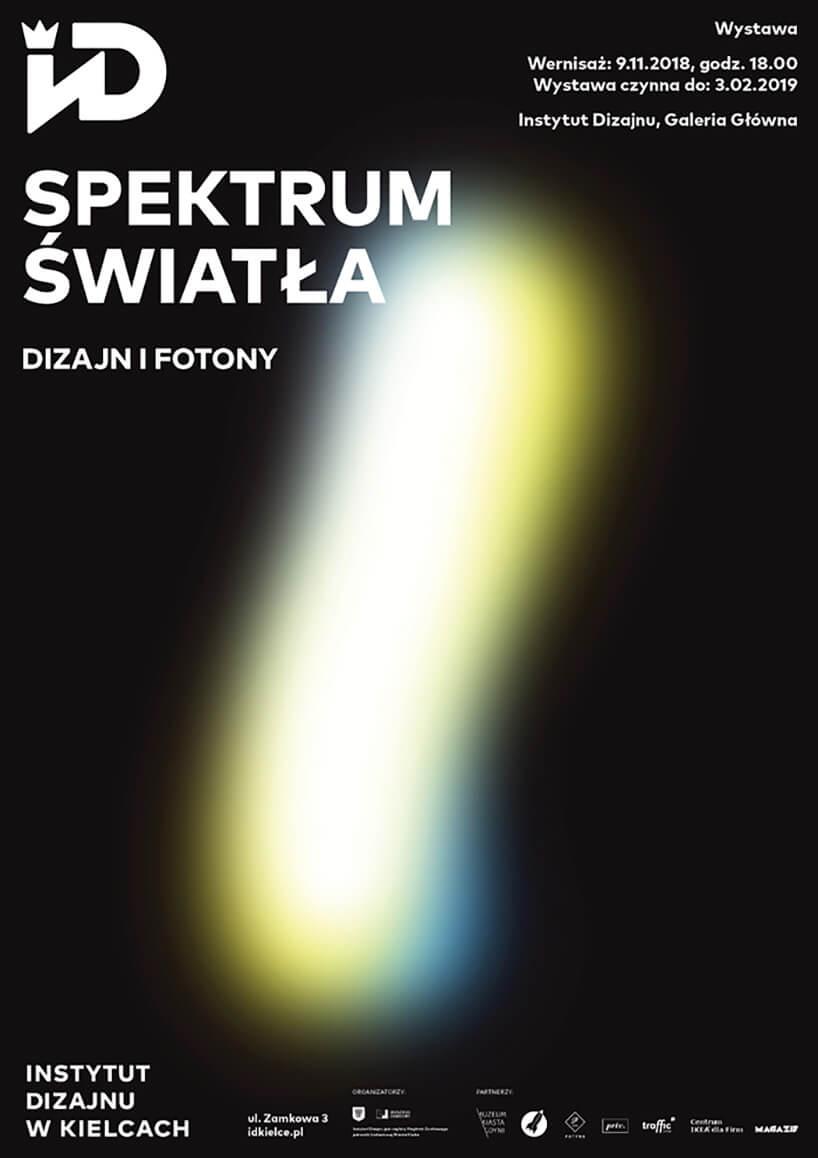 instytut designu plakat spektrum światła