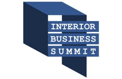 granatowy logotyp Interior Business Summit 2020