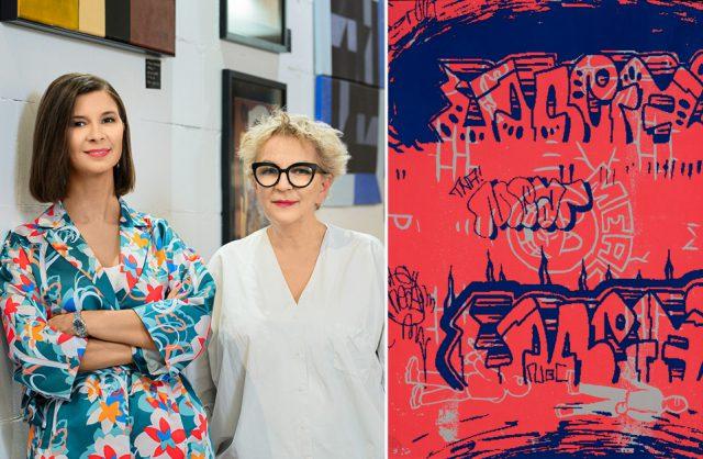 zdjęcie Ewy Mierzejewskiej i Leny Szwed-Strużyńskiej z Targów Sztuki Dostępnej