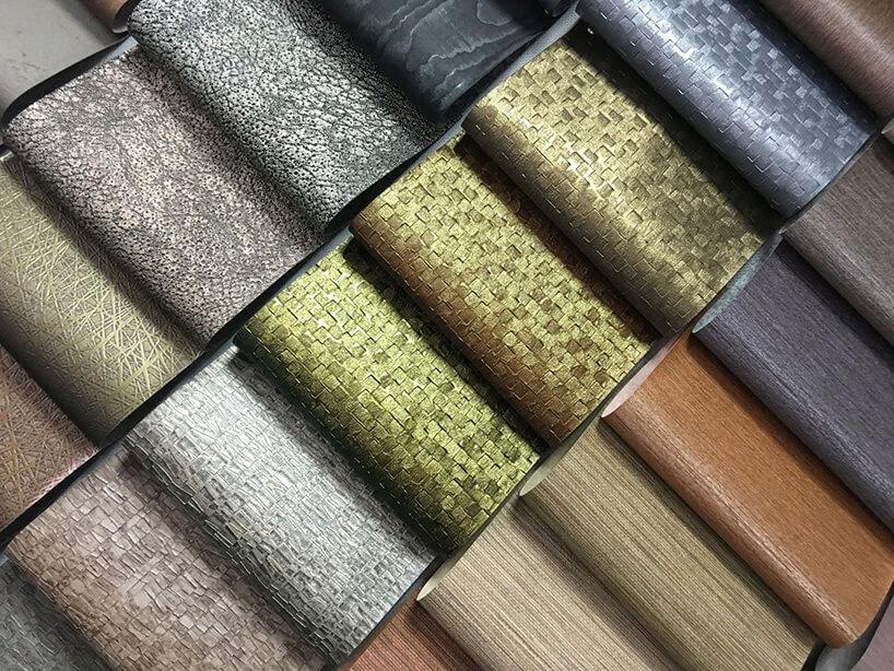 paleta różnokolorowych tapet