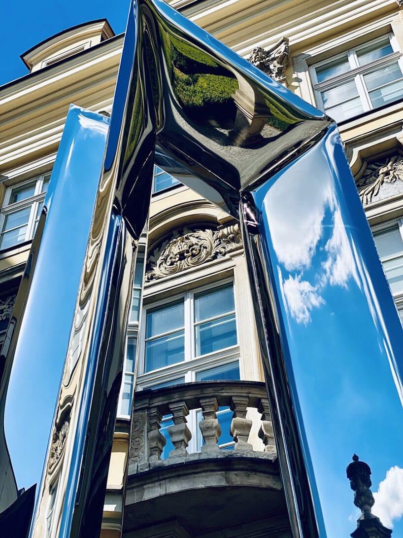 Urban Crystals rzeźba oskara zięty