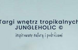 logotyp plakat targów JUNGLEHOLIC 2019