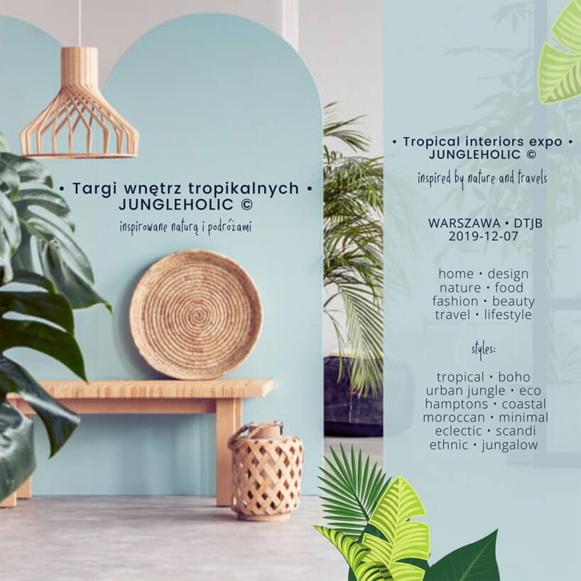 plakat targów JUNGLEHOLIC 2019