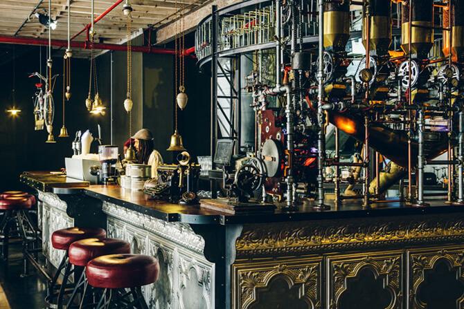 nowoczesny bar