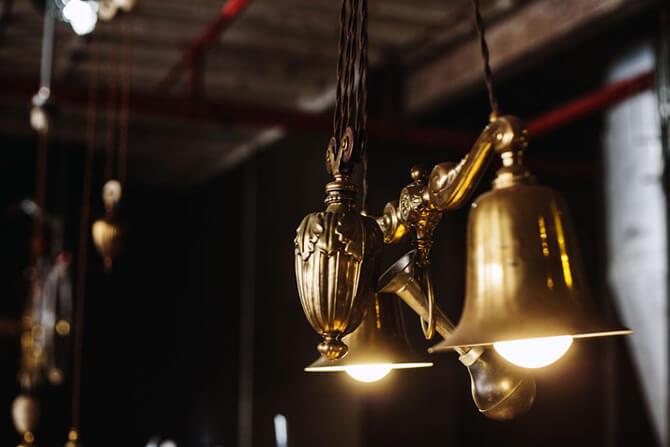 stylizowane lampy