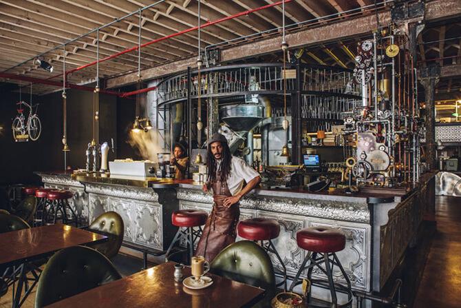 stylowy bar