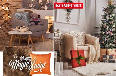 świąteczne aranżacje wnętrz od Komfortu