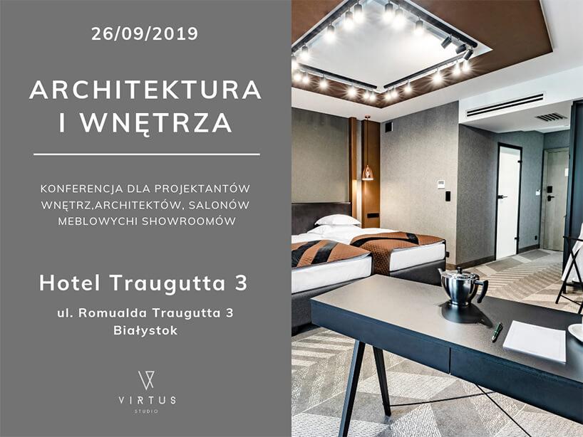 zaproszenie na konferencję Wnętrza iArchitektura 2019