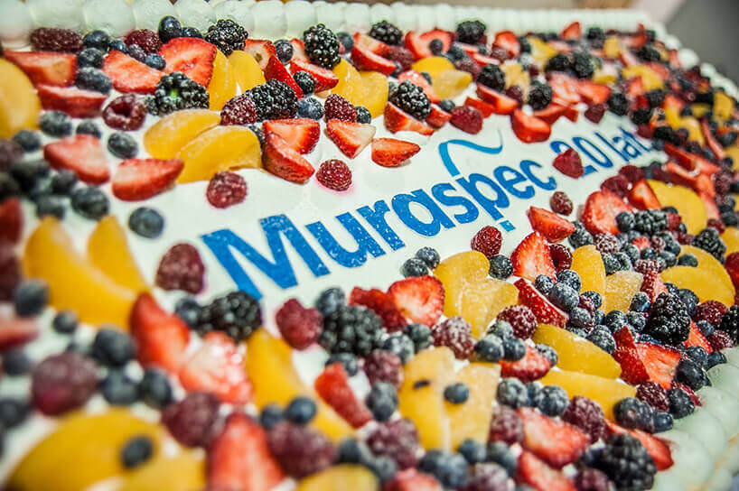 tort pokryty owocami
