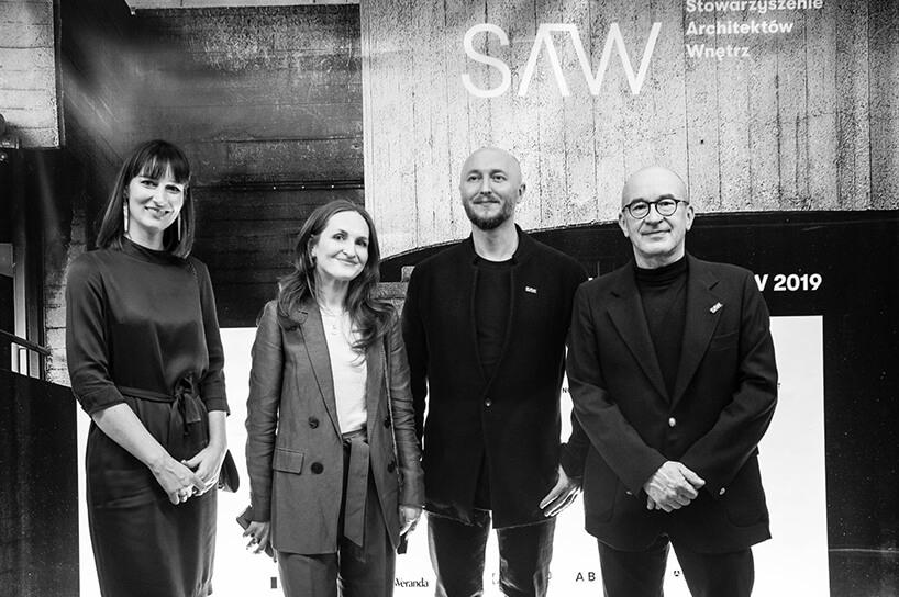 jury konkursu Wnętrze Roku SAW 2019 na gali