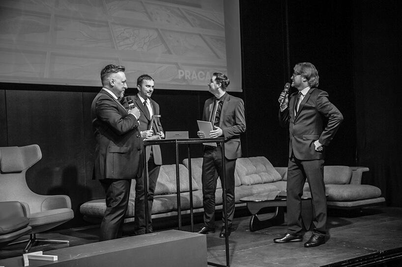 scena podczas wręczania nagrody na gali Wnętrze Roku SAW 2019