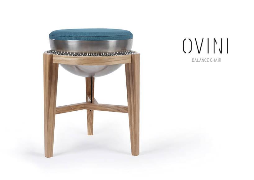 krzesła zosadzeniem kulkowym siedziska Ovini