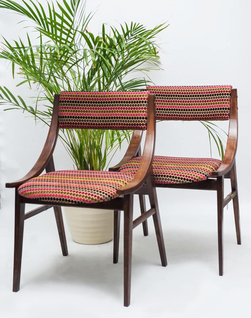 Dwa krzesła skoczek GFM-57