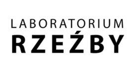 logotyp wystawy Laboratorium Rzeźby 2020