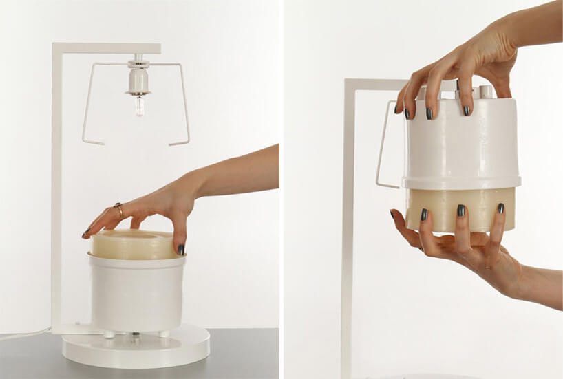 forma do robienia kinkietu lampy