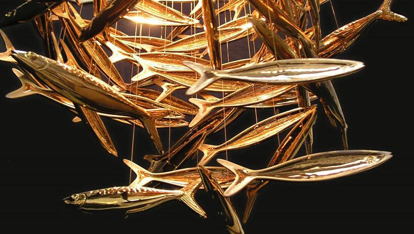 złota ławica ryb
