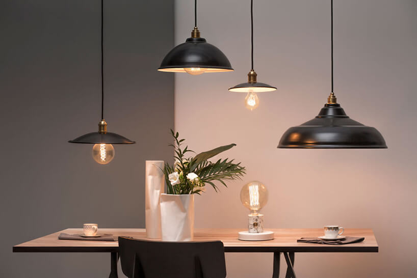 zestawienie kolekcji lamp wstylu lat 20