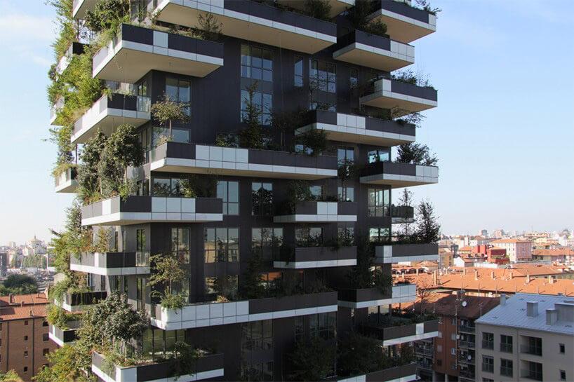 zielony wieżowiec wchińskim mieście