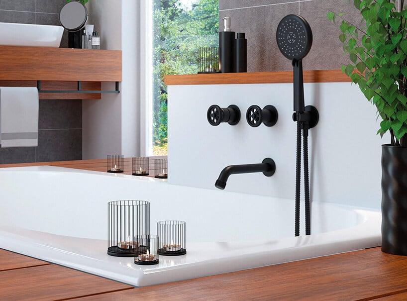 Łazienka wstylu loftowym. Jakie baterie wybrać?