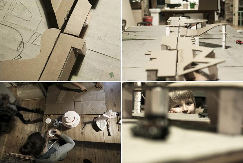 drewniane wzory