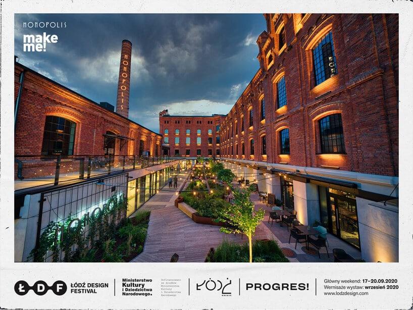 zdjęcie Monopolis wŁodzi zrewitalizowane budynki pofabryczne