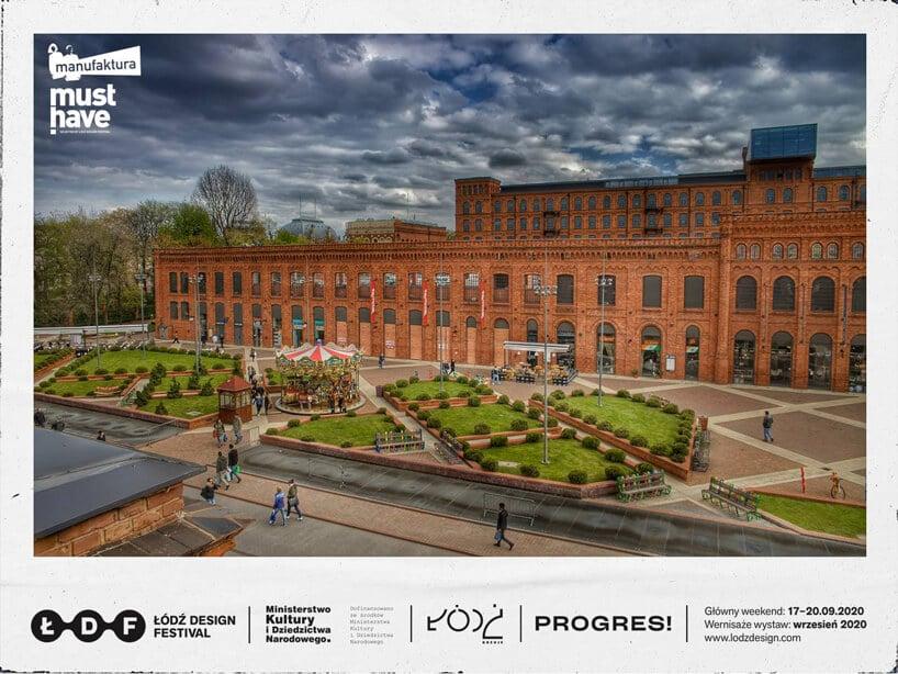 zdjęcie Manufaktury wŁodzi zrewitalizowane budynki pofabryczne