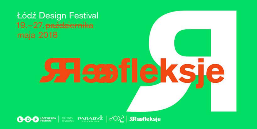 Łódź Design Festival 2018 plakat