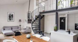 projekt loftu wkamienicy od loft factory