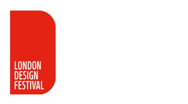 czerwone logo London Design Festival 2019