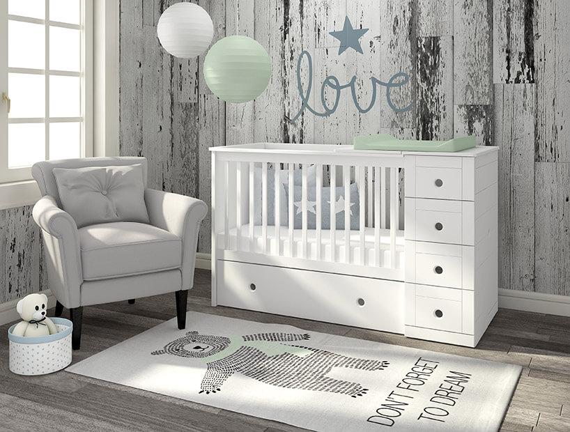 Mały świat Nowo Narodzonego Dziecka Czyli łóżeczko