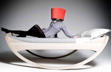 łóżko na biegunach