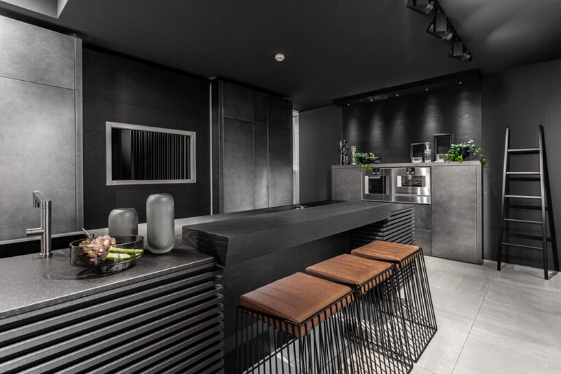 czarno szara kuchnia Unique Q12 od ernestrust