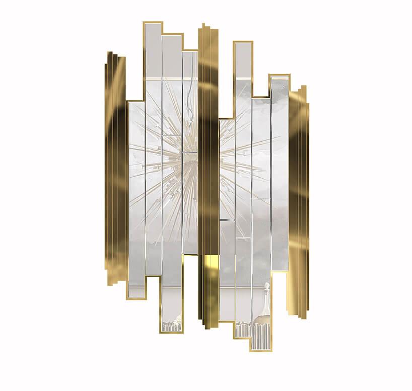 lustro zpodłużnych tafli szkła imetalu