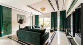 przestronny luksusowy dom pod Krakowem projekty Iwony Trędowskiej