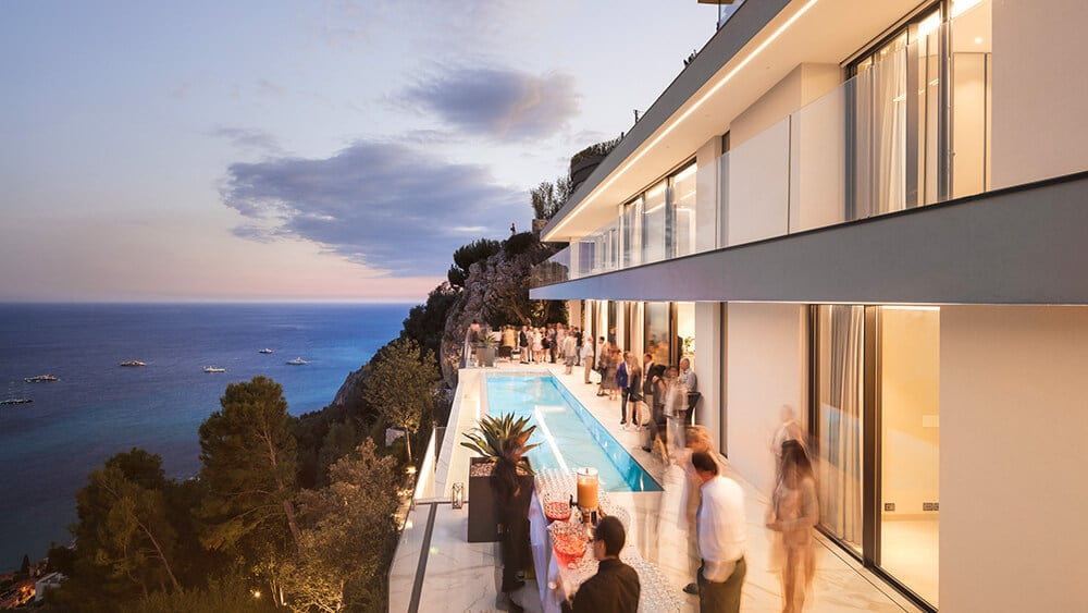 Luksusowy, elegancki dom na Lazurowym Wybrzeżu