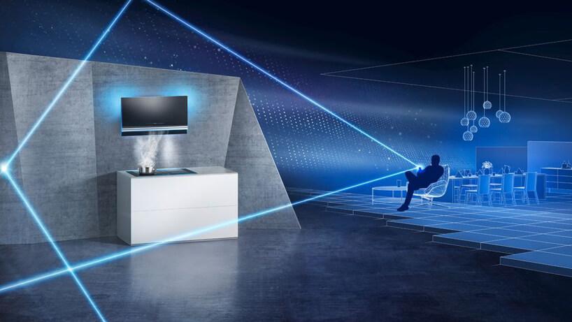 wizualizacja zarządzania sprzętem AGD marki Siemens