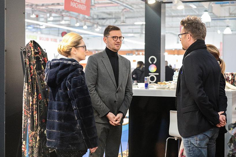 Nina Ryszka iMaciej Zień podczas Fast Textile 2017
