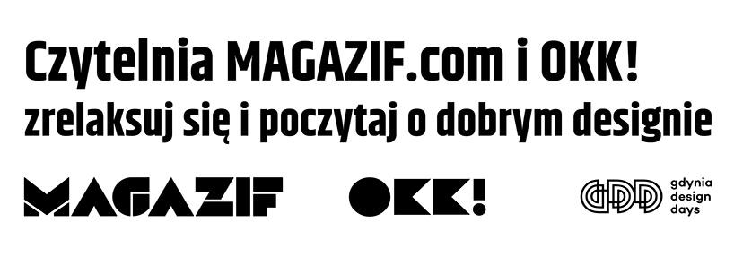 zaproszenie do czytelni na Gdynia Design Days 2019