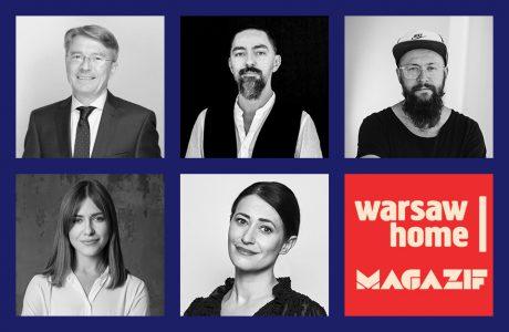 eksperci panelu dyskusyjnego MAGAZIF na Warszaw Home 2019