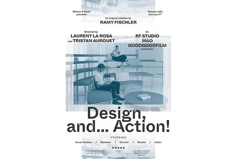plakat Maison & Objet Paris 2020 na białym tle