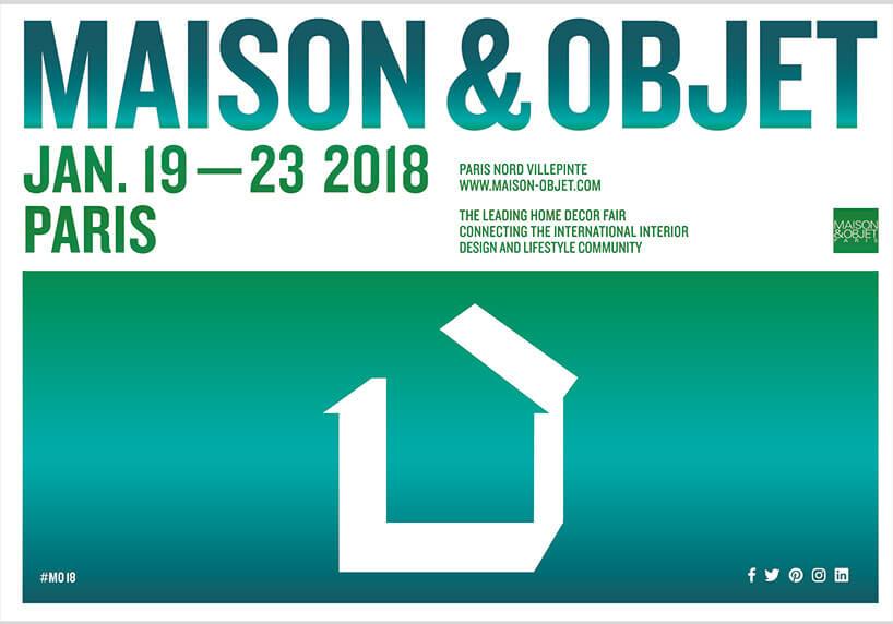 plakat Maison & Objet Paris 2018