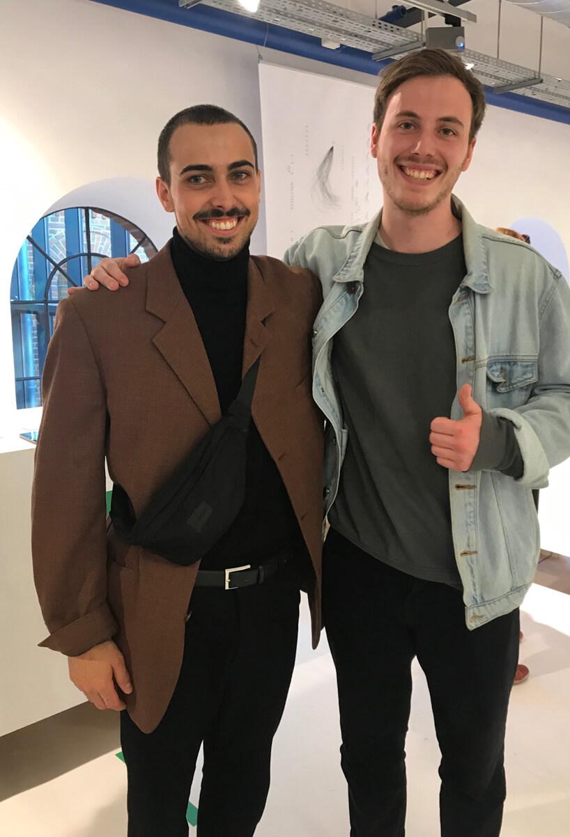 dwóch mężczyzn Haus Otto nagrodzeni wmake me! 2019