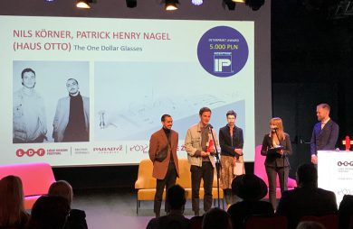 Haus Otto podczas wręczania nagrody make me! 2019