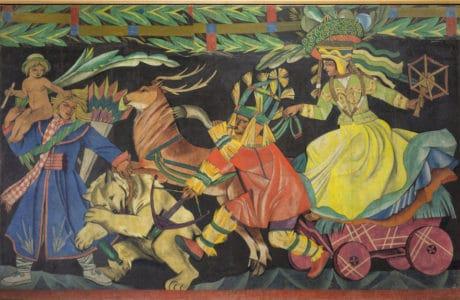 malarskie dzieło zofii stryjeńskiej